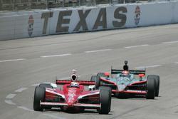 Scott Dixon, Target Chip Ganassi Racing, Dan Wheldon, Panther Racing