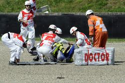 Valentino Rossi, Fiat Yamaha Team crash