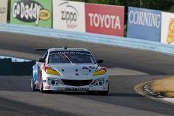 #40 Dempsey Racing Mazda RX-8: Charles Espenlaub, Joe Foster, Patrick Dempsey