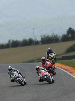 Randy De Puniet, LCR Honda MotoGP y Marco Melandri, San Carlo Honda Gresini