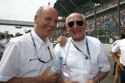 Dr. Ullrich, Audi motorsport director and Dr. Thomas Betzler, ITR Chairman