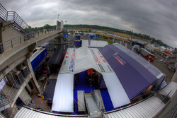 Paddock overall view
