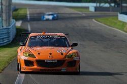 #68 SpeedSource Mazda RX-8: Adam Christodoulou, John Edwards, Tom Long