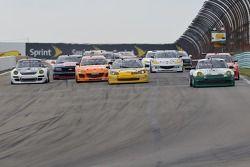GT Départ de la course