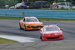 #31 Marsh Racing Corvette: Eric Curran, Sonny Whelen, #68 SpeedSource Mazda RX-8: Adam Christodoulou