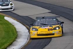 #28 LG Motorsports Corvette: Kelly Collins, Eric Lux, Lou Gigliotti