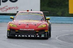 #42 Team Sahlen Mazda RX-8: Joe Nonnamaker, Will Nonnamaker, Joe Sahlen