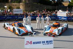 #009 Aston Martin Racing Lola Aston Martin: Darren Turner, Juan Barazi, Sam Hancock, #007 Aston Mart