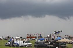 Les nuages arrivent sur Pocono