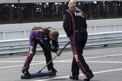Le Joe Gibbs Racing team se prépare