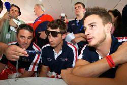 Nigel Mansell, Leo Mansell en Greg Mansell