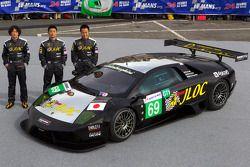 #69 JLOC Lamborghini Murcielago: Atsushi Yogo, Koji Yamanishi, Hiroyuki Iiri