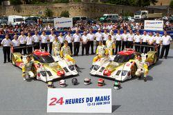 #12 Rebellion Racing Lola Rebellion Coupe: Нил Джани, Николя Прост, Марко Андретти, #13 Rebellion Ra