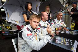 Markus Palttala, Eric De Doncker en Bas Leinders