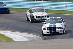#19 Capaldi Racing Ford Mustang: Brad Adams, Steve Phillips