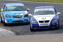 #22 GS Motorsports Chevrolet Cobalt: Thomas Lepper, Gunter Schmidt, #81 BimmerWorld BMW 328i: Seth T