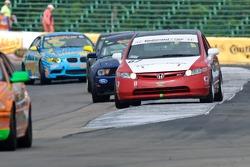 #67 CA Sport Honda Civic Si: Lara Tallman, Vesko Kozarov