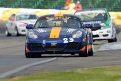 #23 BGB Motorsports Porsche Cayman: Steve Jenkins, Craig Stanton