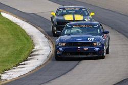 #37 JBS Motorsports Ford Mustang Boss 302 R: Bret Seafuse, James Gue