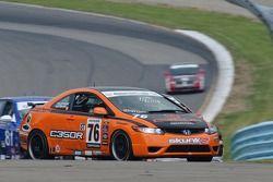 #76 Compass360 Racing Honda Civic Si: John Kuitwaard, Carlos Tesler-Mabe