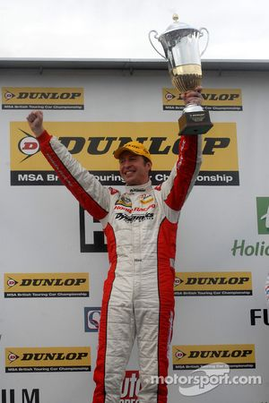 Race Winner Matt Neal