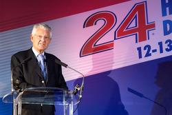 ACO annual press conference: ACO President Jean-Claude Plassart