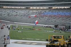 Pre-race cermonies for the WinStar World Casino 400K at Texas Motor Speedway