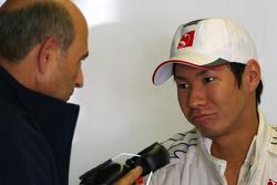 Peter Sauber, BMW Sauber F1 Team, Takım Sahibi ve Kamui Kobayashi, BMW Sauber F1 Team
