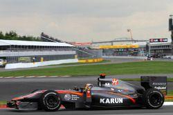 Карун Чандок, Hispania Racing F1 Team HRT