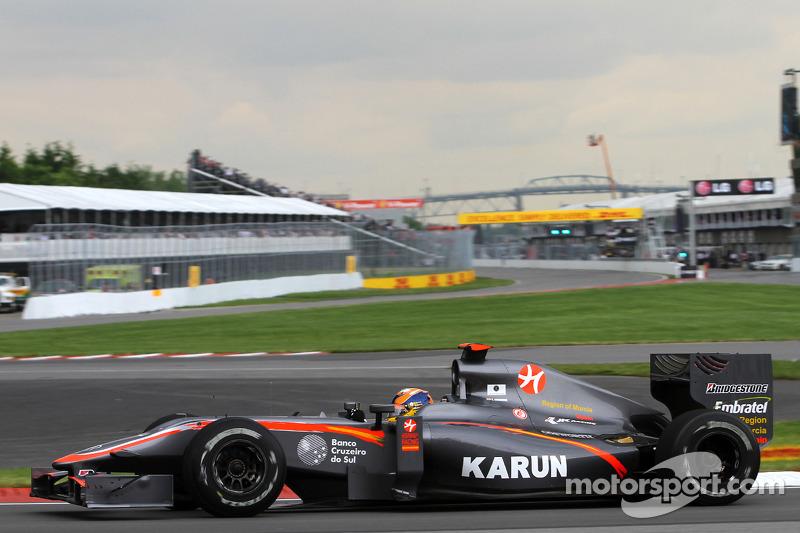 Карун Чандок (в Ф1 – 2010-2011, 11 Гран При, 0 очков)