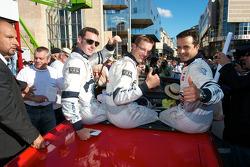Simon Pagenaud, Sébastien Bourdais and Pedro Lamy