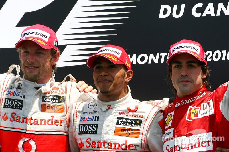 58- Fernando Alonso, 3º en el GP de Canadá 2010 con Ferrari