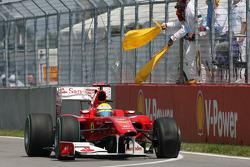 Trouble for Felipe Massa, Scuderia Ferrari