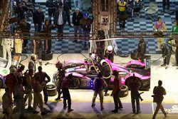 Pitstop #35 Oak Racing Pescarolo Judd: Matthieu Lahaye, Guillaume Moreau, Jan Charouz