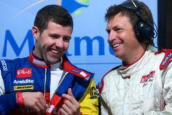 Andy Meyrick en Justin Bell