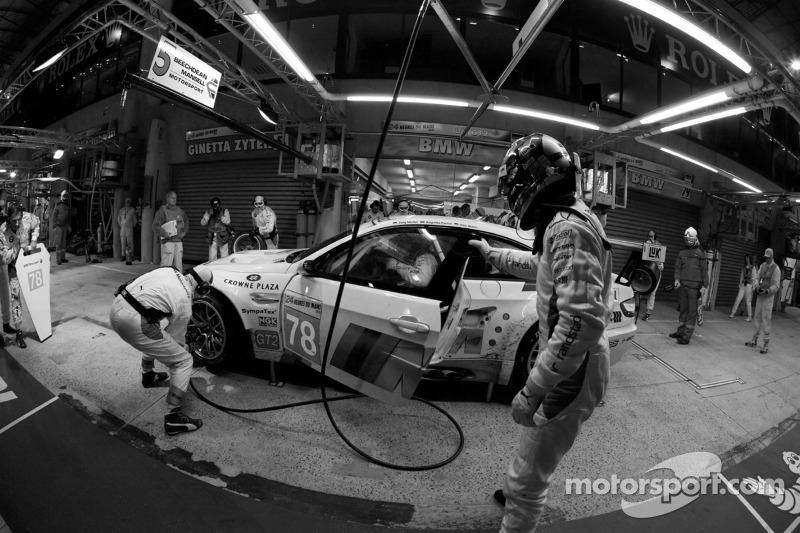 Pitstop #78 BMW Motorsport BMW M3: Jörg Müller, Augusto Farfus, Uwe Alzen