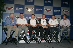 IZOD IndyCar Series New Engine Strategy Team, Bill Looney, Eddie Gossage, Tony Cotman, Brian Barnhar