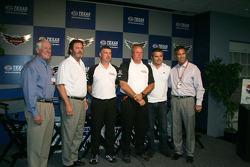 IZOD IndyCar Series New Engine Strategy Team, Bill Looney, Eddie Gossage, Tony Cotman, Brian Barnhar