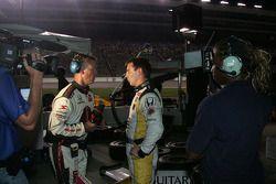 Mario Romancini, Conquest Racing devant les médias après l'accident avec Helio Castroneves & Mario Moraes