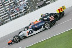 Mario Moraes, KV Racing Technology & Tomas Scheckter, Dreyer & Reinbold Racing