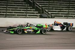 Danica Patrick, Andretti Autosport & E.J. Viso, KV Racing Technology