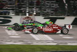 Scott Dixon, Target Chip Ganassi Racing & Danica Patrick, Andretti Autosport