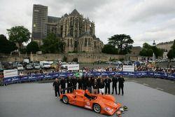 #19 Michael Lewis Autocon Lola AER: Michael Lewis, Bryan Willman, Tony Burgess