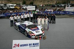 #50 Larbre Competition Saleen S7R: Rolen Berville, Julien Canal, Gabriele Gardel