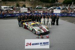 #70 Marc VDS Racing Team Ford GT: Eric De Doncker, Bas Leinders, Markus Palttala
