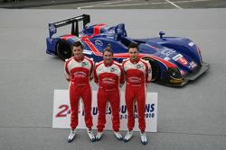 #5 Beechdean Mansell Ginetta Zytek: Nigel Mansell, Greg Mansell, Leo Mansell