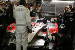 #14 Kolles Audi R10: Christian Bakkerud, Oliver Jarvis, Christophe Bouchut