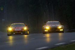 #95 AF Corse Ferrari F430 GT: Giancarlo Fisichella, Jean Alesi, Toni Vilener, #92 JMW Motorsport Ast
