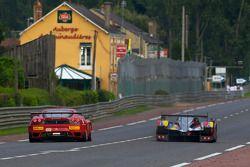 #4 Team Oreca Matmut Peugeot 908: Olivier Panis, Nicolas Lapierre, Loic Duval, #82 Risi Competizione Ferrari F430 GT: Jaime Melo, Gianmaria Bruni, Pierre Kaffer