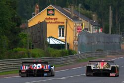 #37 Gerard Welter WR Zytek: Philippe Salini, Stéphane Salini, Tristan Gommendy, #12 Rebellion Racing Lola Rebellion Coupe: Nicolas Prost, Neel Jani, Marco Andretti